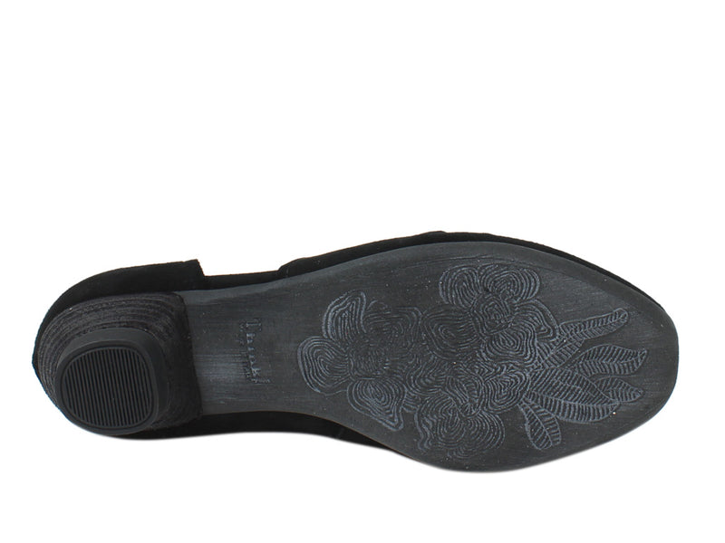 Think Women Shoes Aida 86244-00 Black sole view