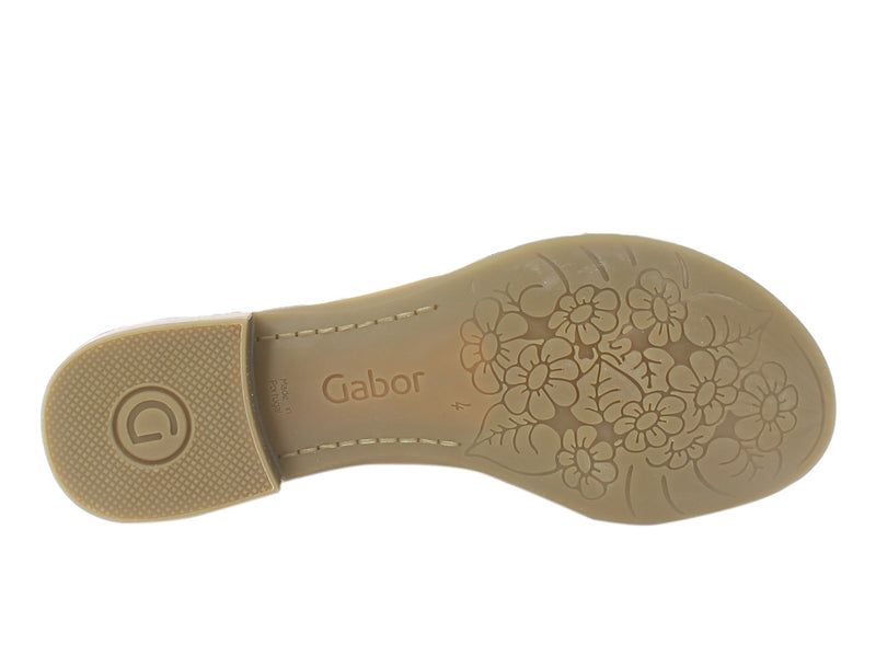 Gabor Sandals Sweetly 42.761 Peanut sole view