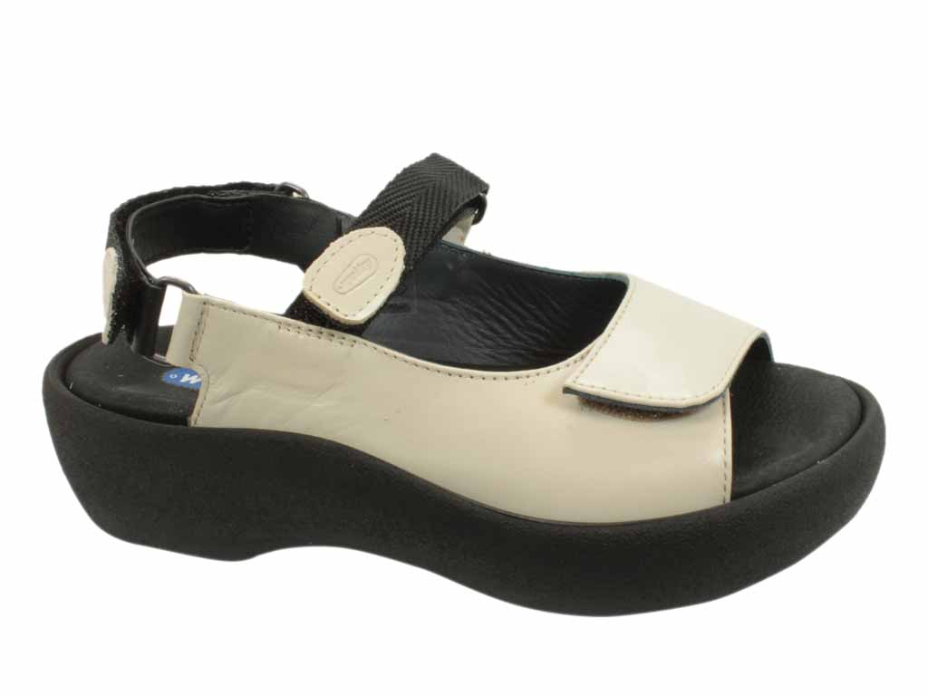 Wolky Sandals Jewel Linen Leather