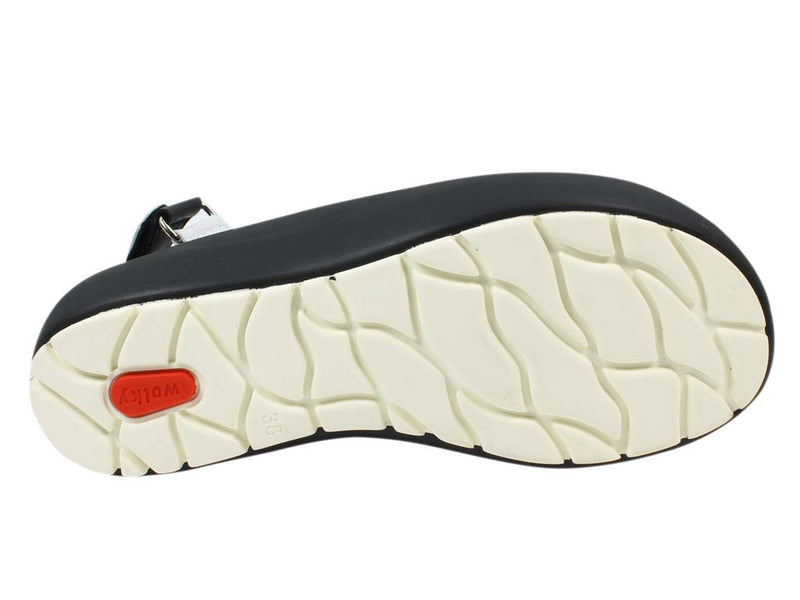 Wolky Women Sandals Rio White sole view
