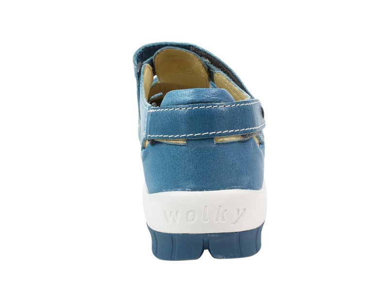 Wolky Shoes Move Sky Blue back view