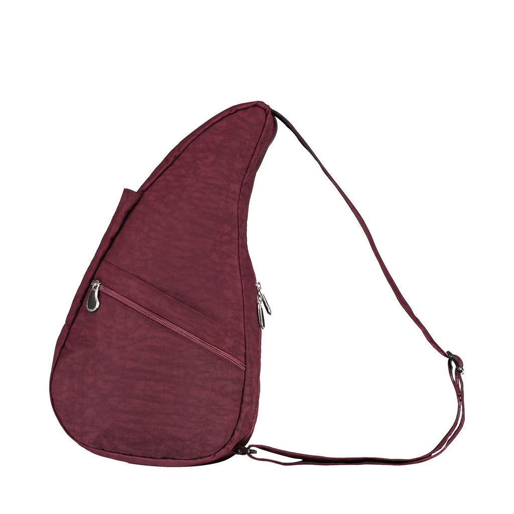 Healthy Back Bag Textured Nylon - Fig Small left side