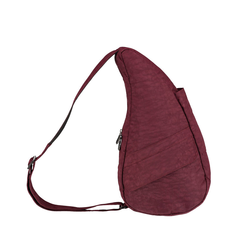 Healthy Back Bag Textured Nylon - Fig Small right side