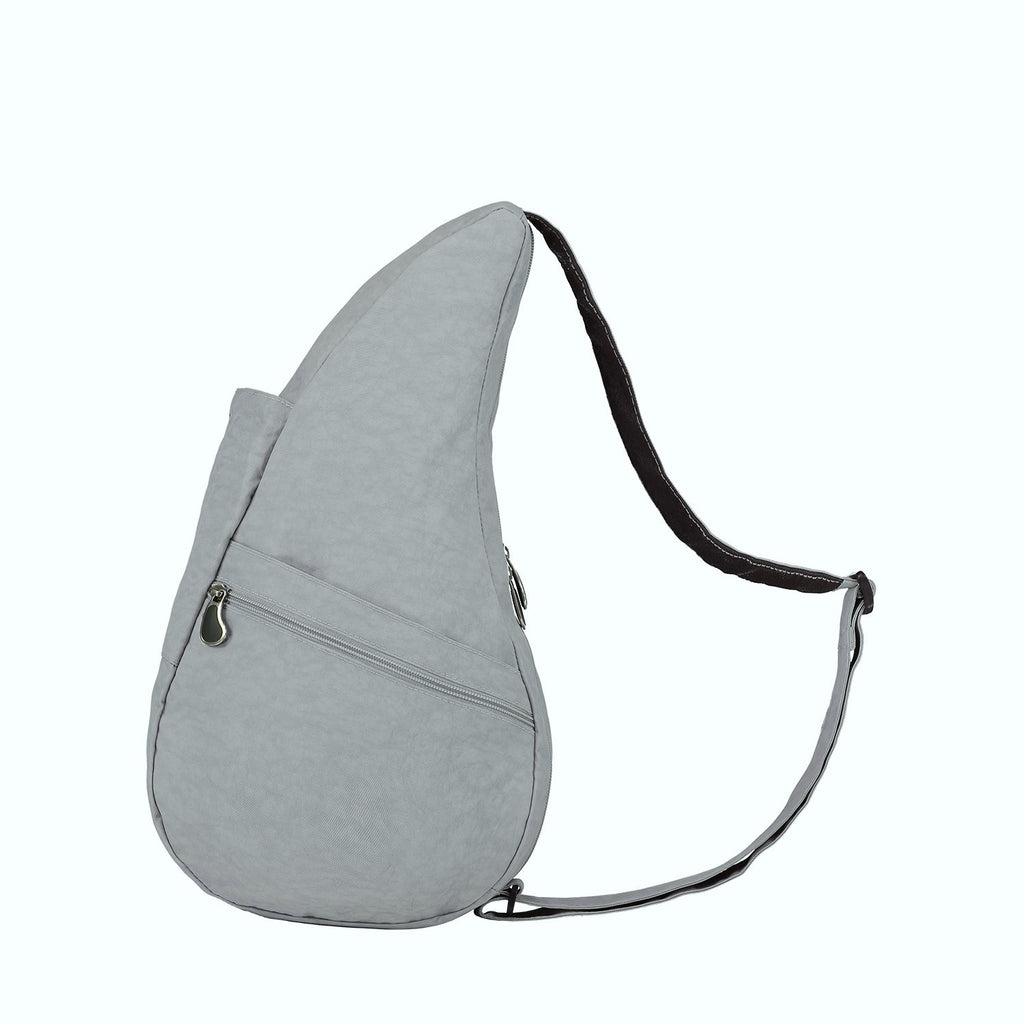 Healthy Back Bag Textured Nylon - Fox Grey Small left side