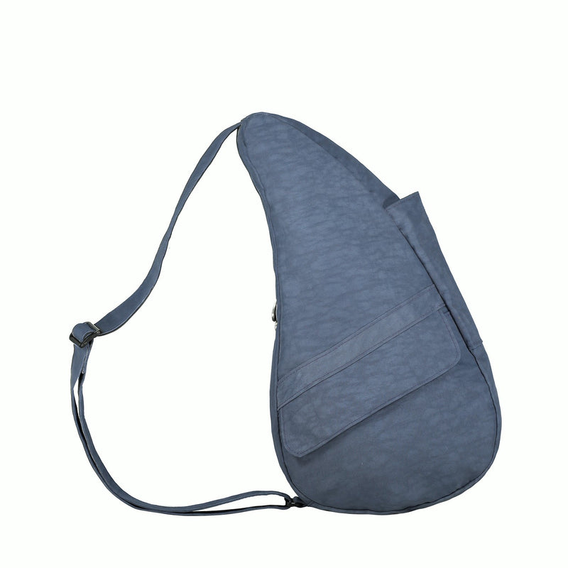 Healthy Back Bag Textured Nylon - Indigo Small right side