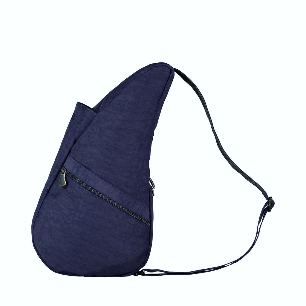 Healthy Back Bag Textured Nylon - Night Blue Small left side