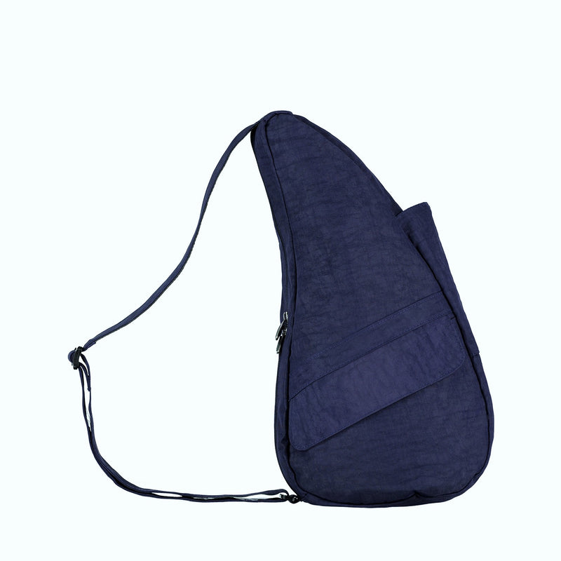 Healthy Back Bag Textured Nylon - Night Blue Small right side
