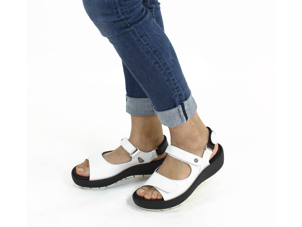 Wolky Women Sandals Rio White