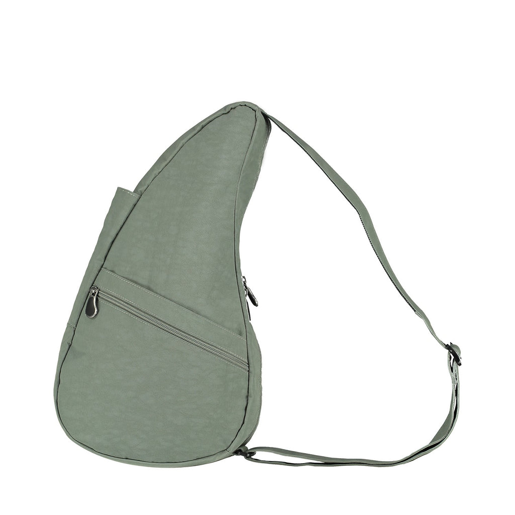 Healthy Back Bag Textured Nylon - Sage Small left side