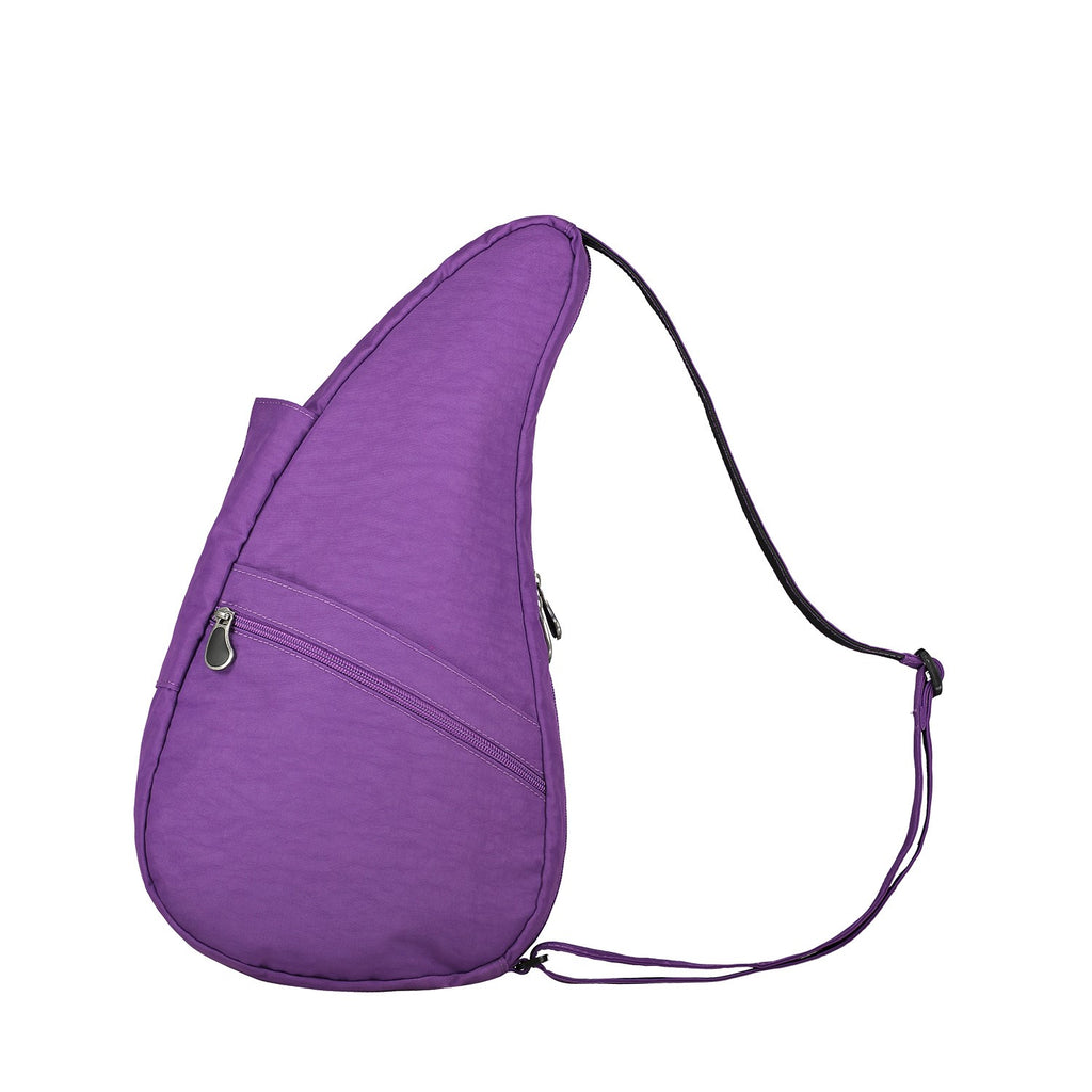 Healthy Back Bag Textured Nylon - Purple Small left side
