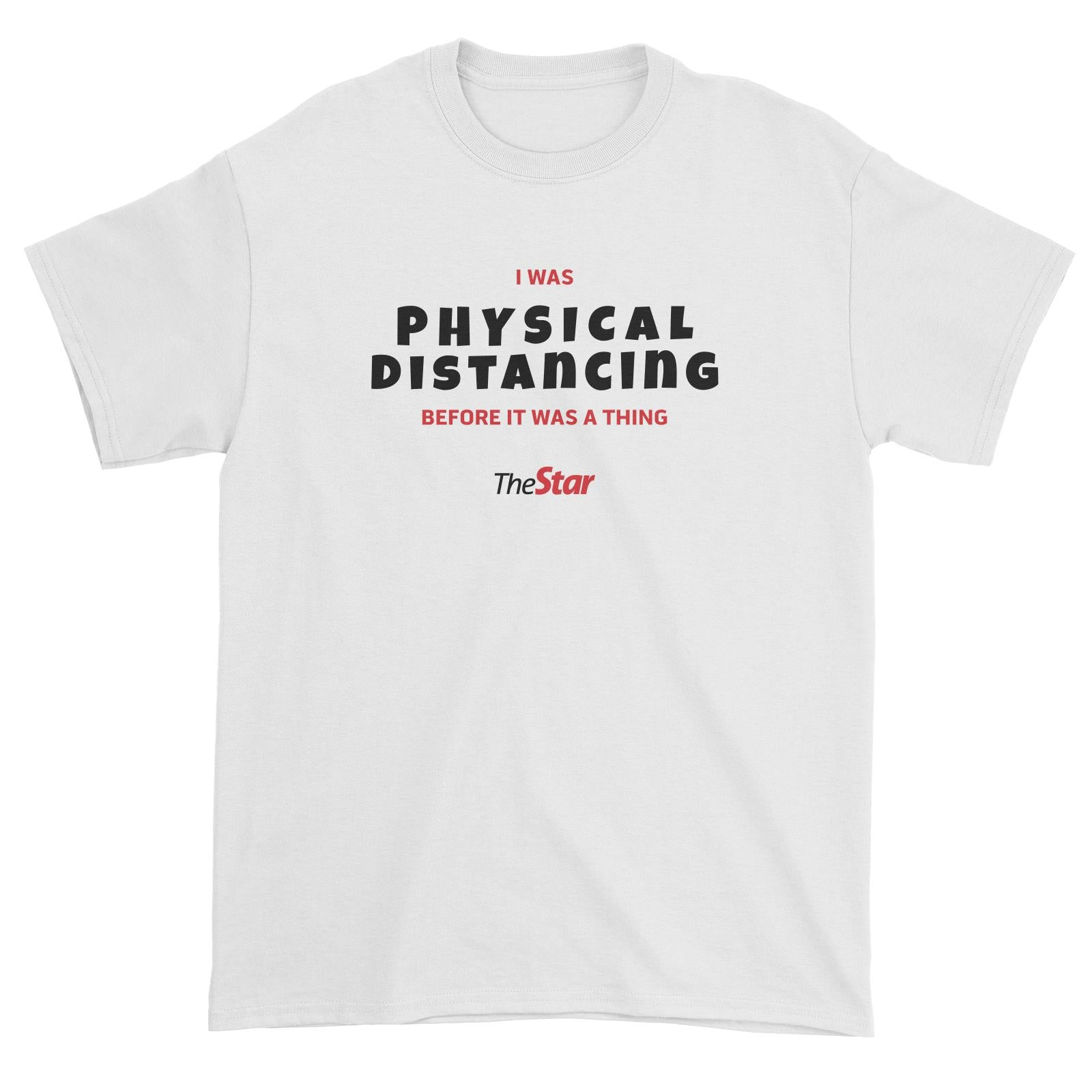 Physical Distancing The Star Standard Unisex T-Shirt