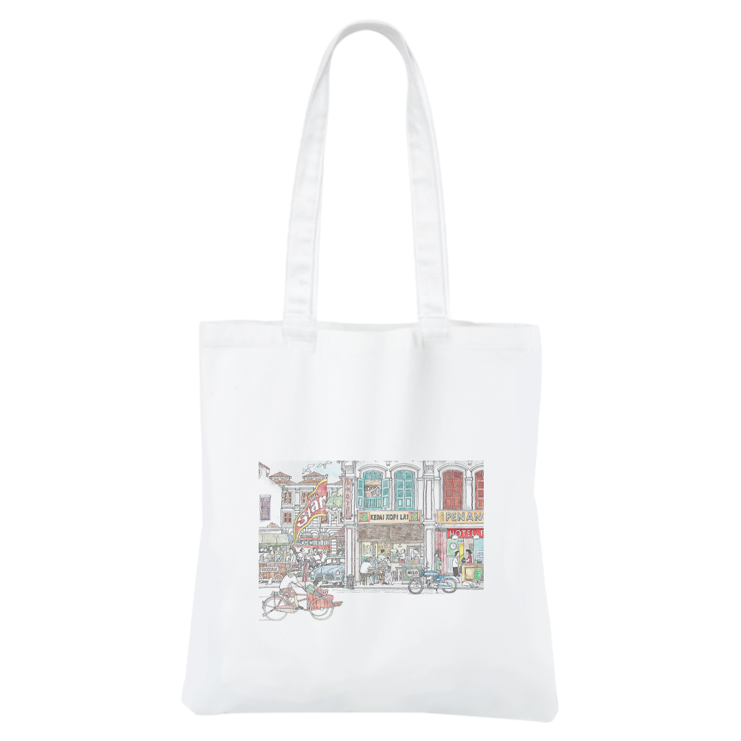 STAR50 Pitt Street Canvas Bag