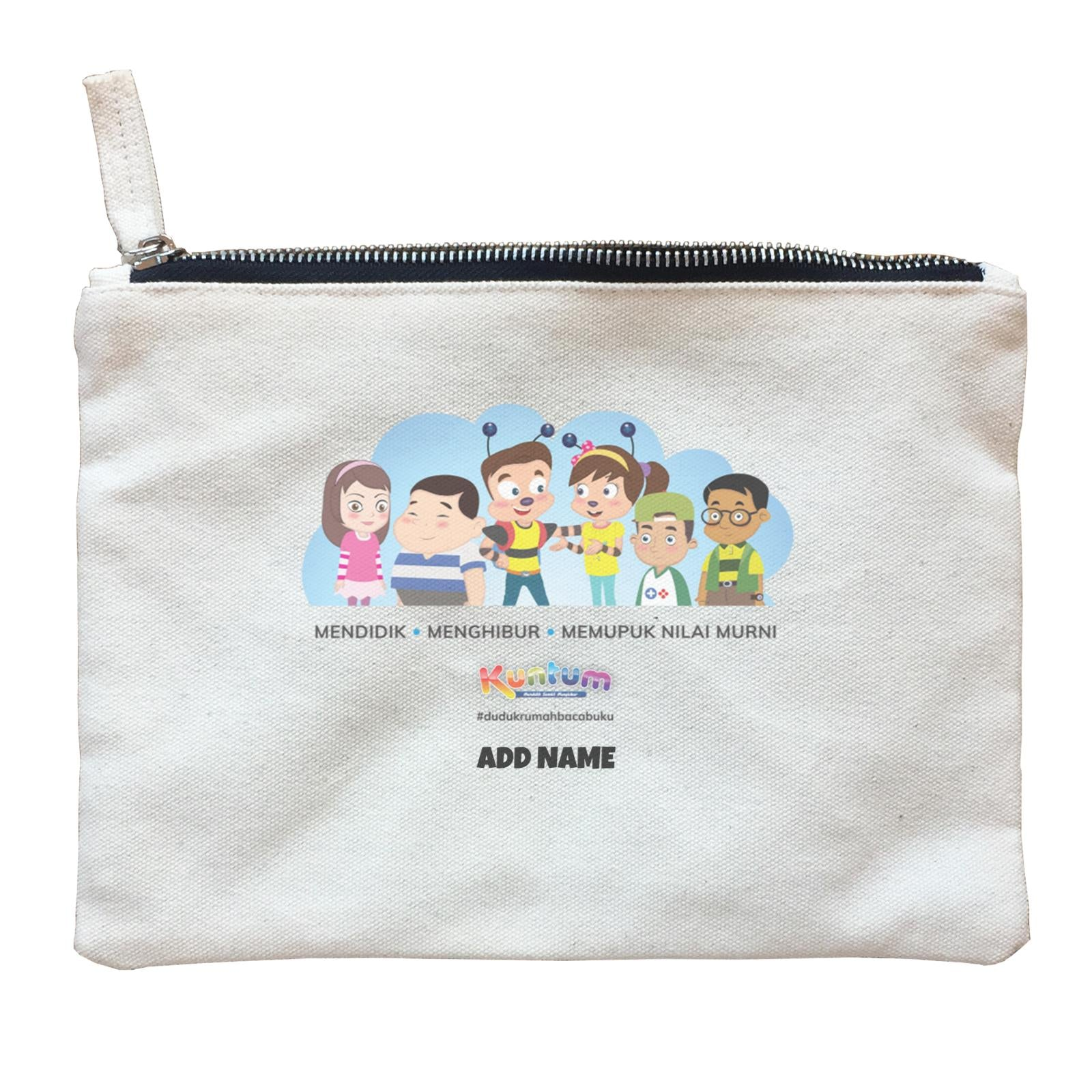 Kuntum & Friends Zipper Pouch