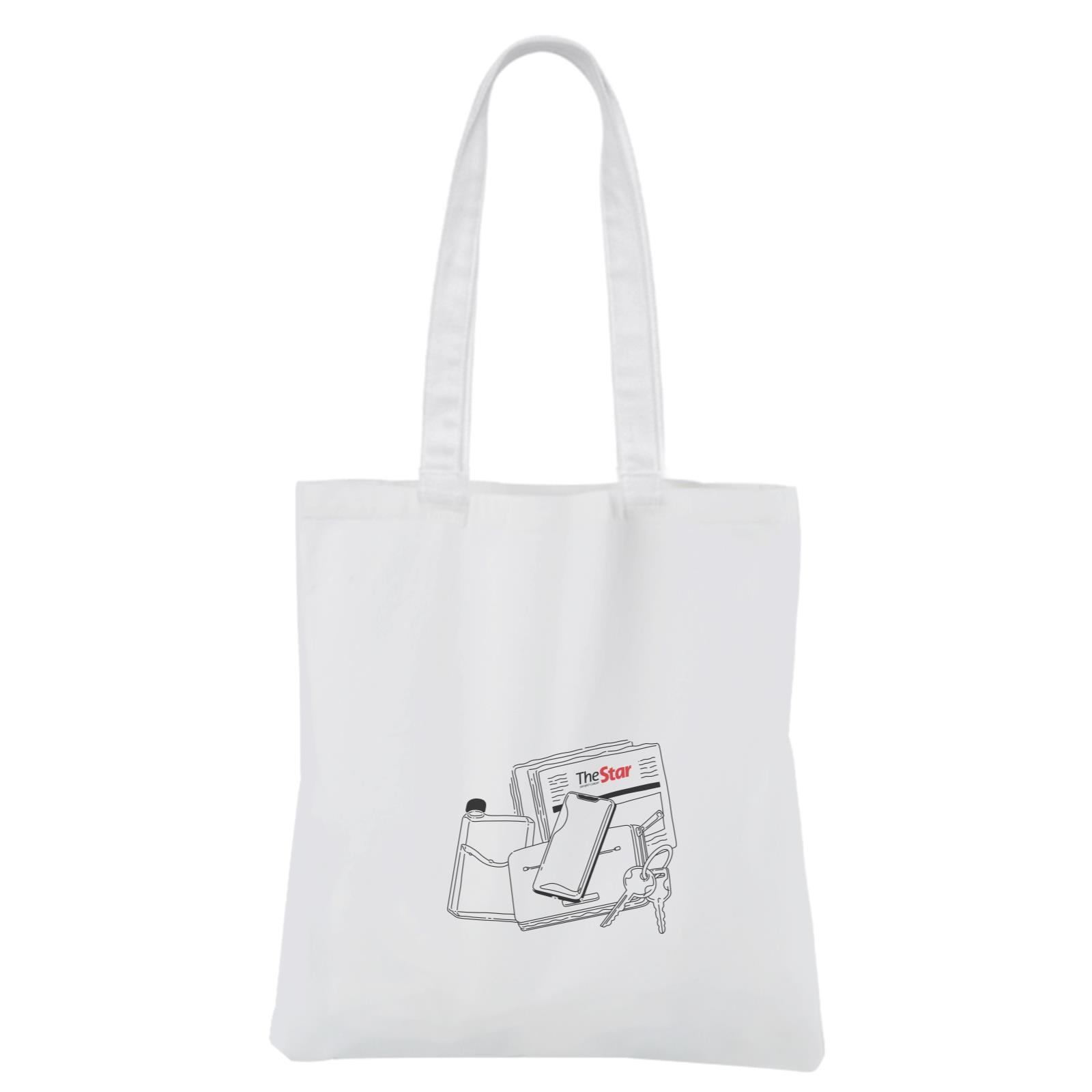 Comic Canvas Bag