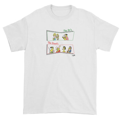 Face Mask do's and dont's Standard Unisex T-Shirt