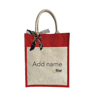 Urban Jute Bag - Name