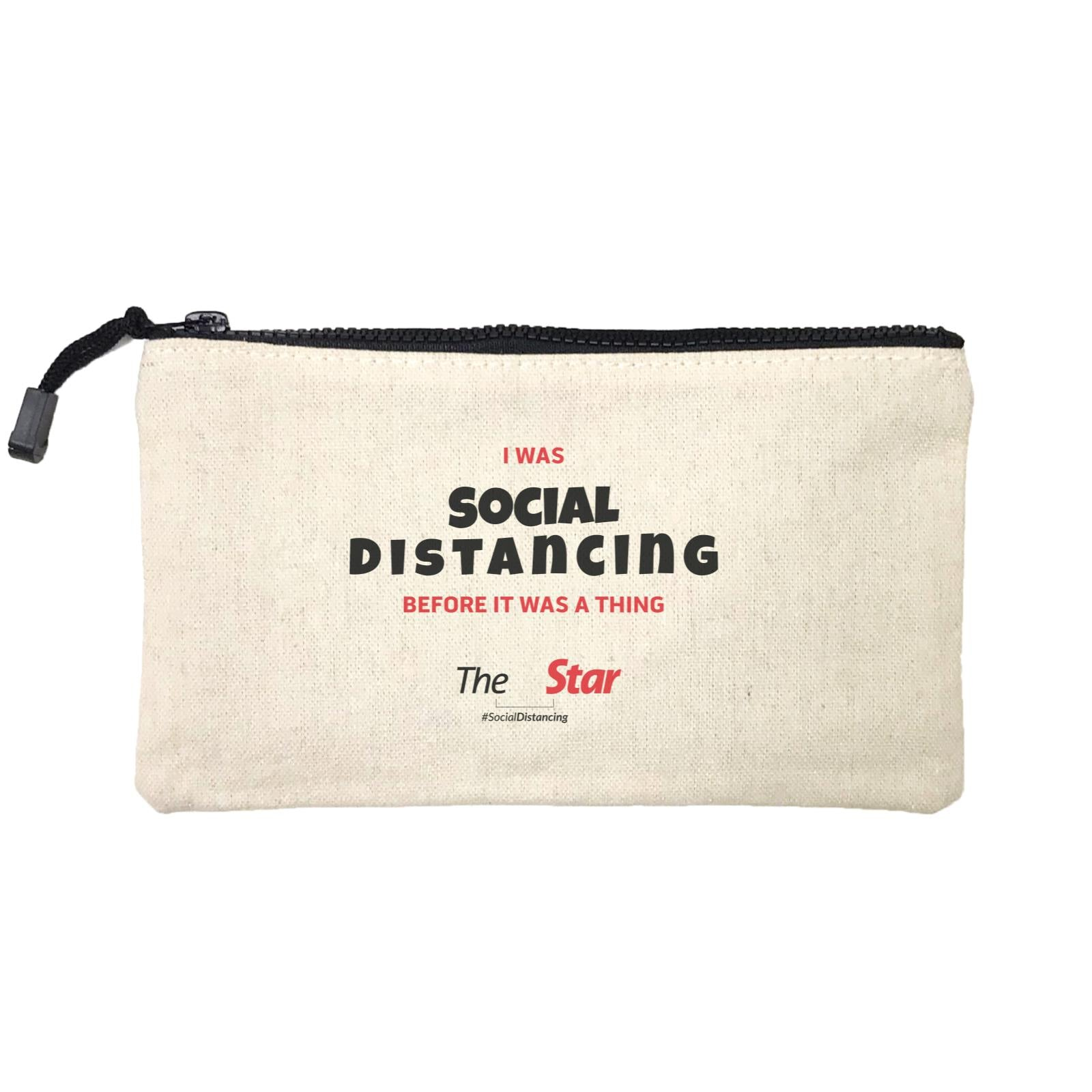 Social Distancing Stationery Pouch