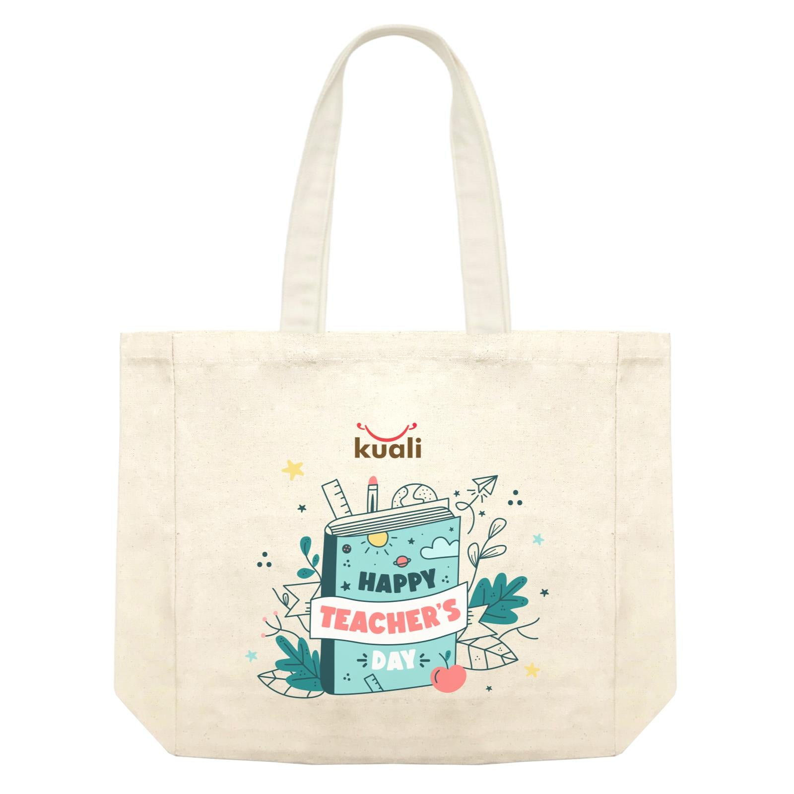 Book Design Shopping Bag