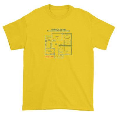 Home Floor Plan Standard Unisex T-Shirt