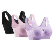 Anti-Sagging Wirefree Bra (Set Of 3)
