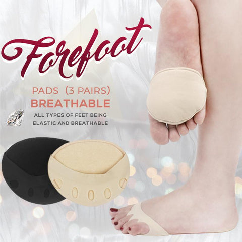 Honeycomb Fabric Forefoot Pads
