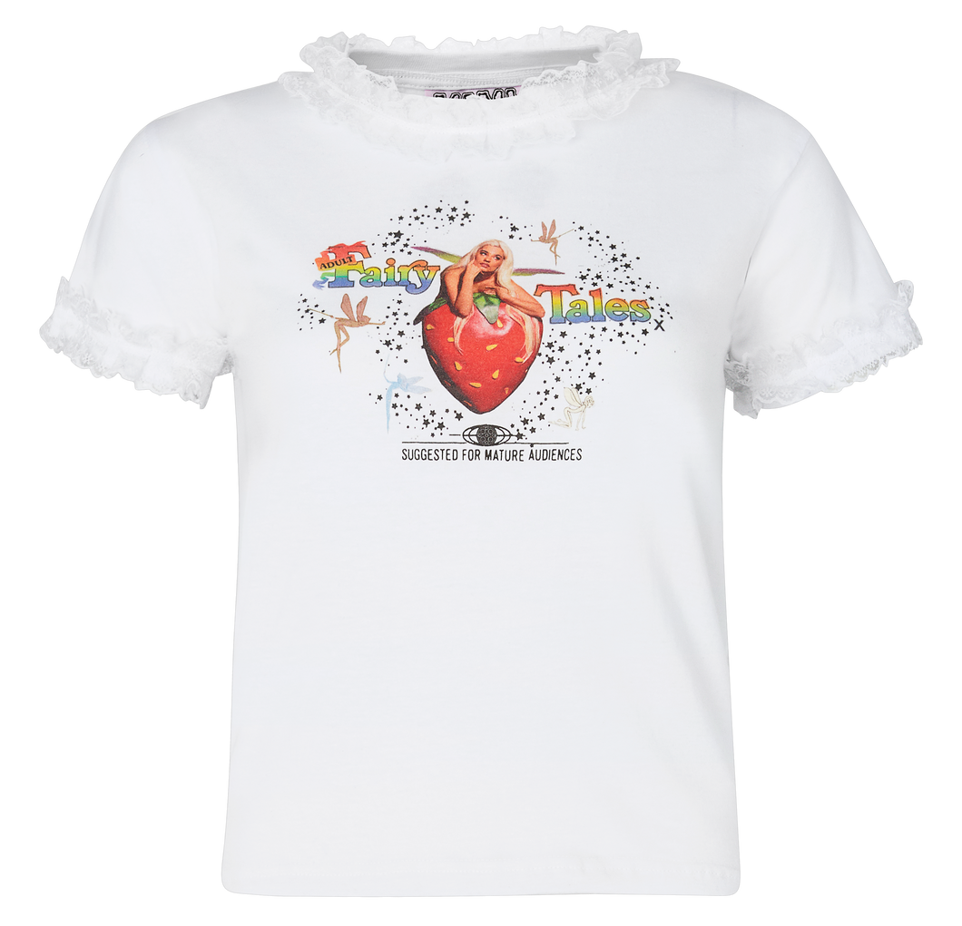 Adult Fairytales T-Shirt 2  | White
