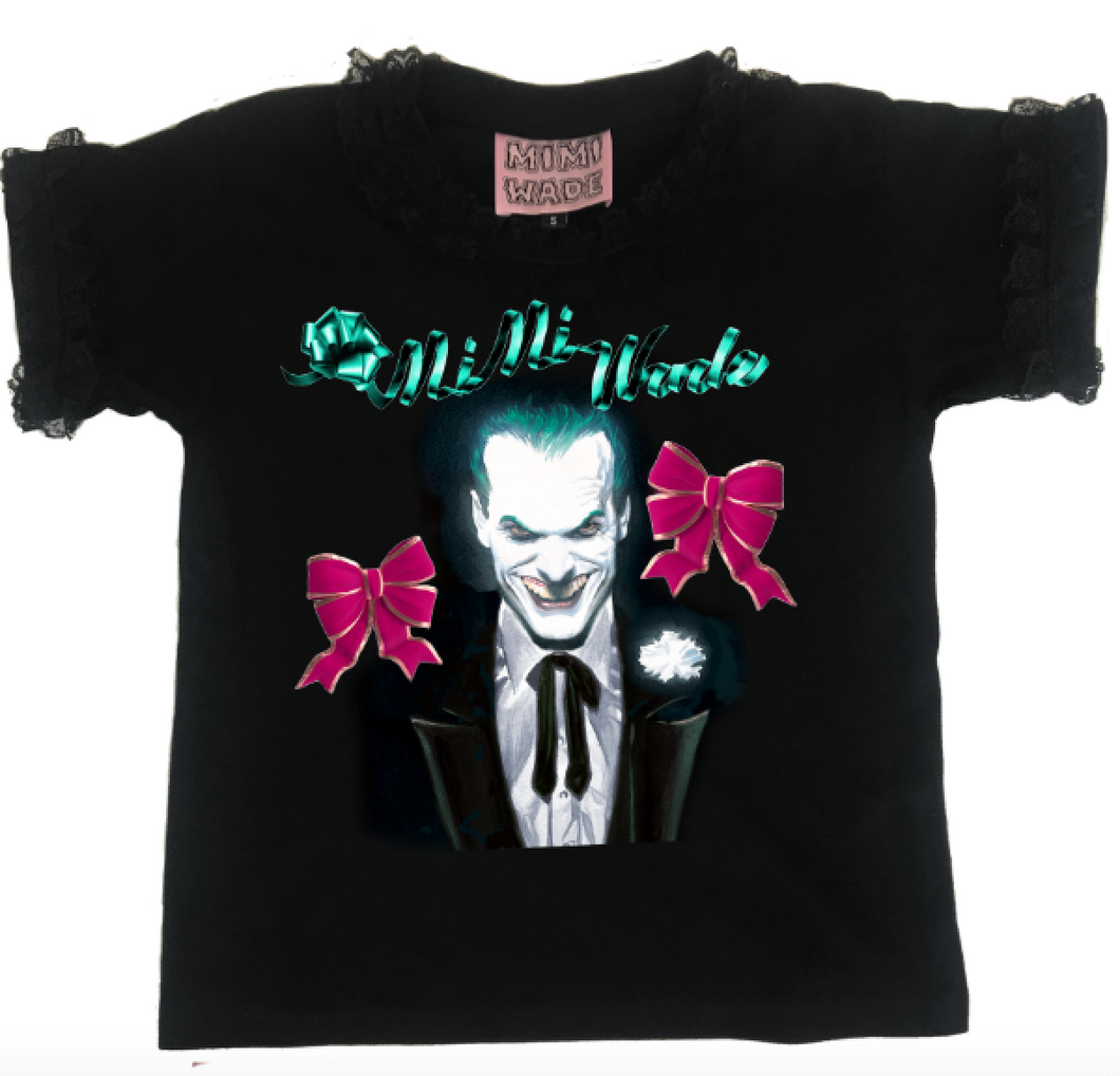 Joker Baby T-Shirt | Black