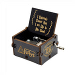 Load image into Gallery viewer, Wooden Memories Hand Crank Music Box