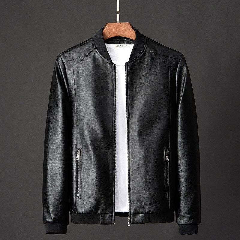 Simply Leather Basic Jacket