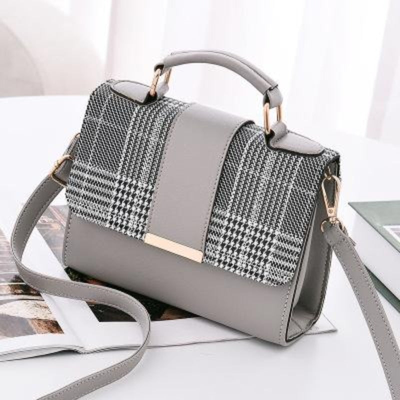 Fashionably Plaid Crossbody