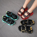 Load image into Gallery viewer, Mountain Top Kids Velcro Sandals