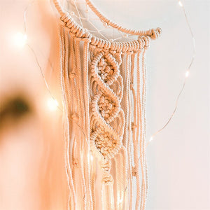 Over The Moon Macrame Dream Catcher