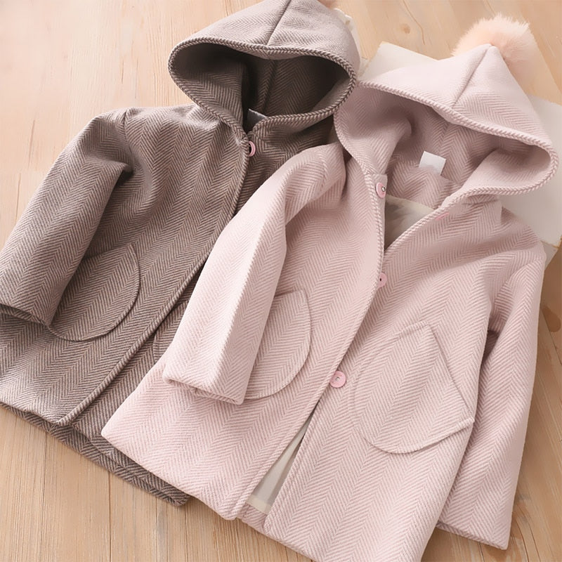 Cozy Cuties Wool Coat
