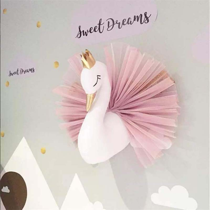 Little Dreamers Soft Swan Decor