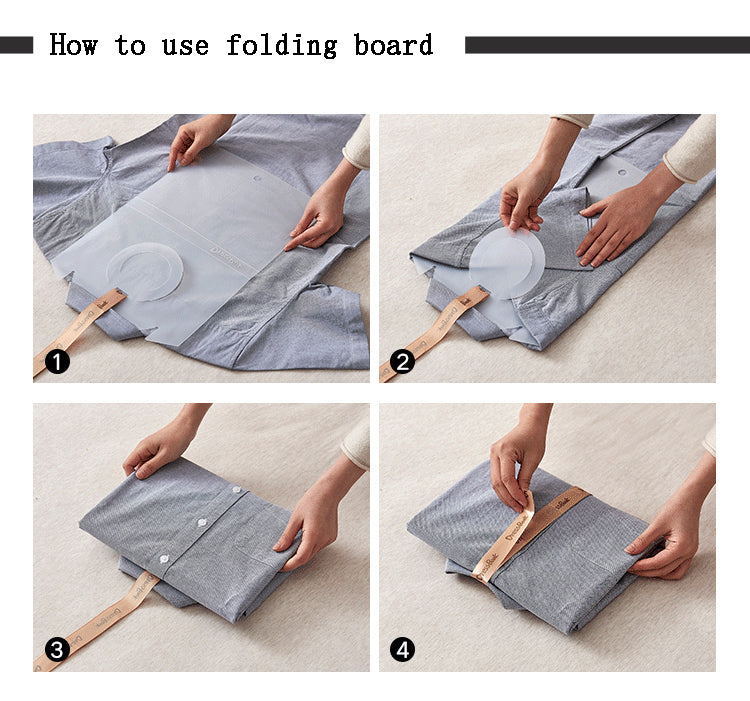Simple House Clothes Folder