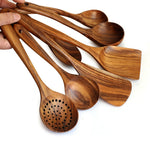 Load image into Gallery viewer, Simply Teak Cooking Utensils