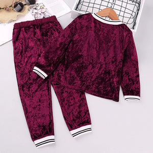 Lovely Velvet Cozy Set