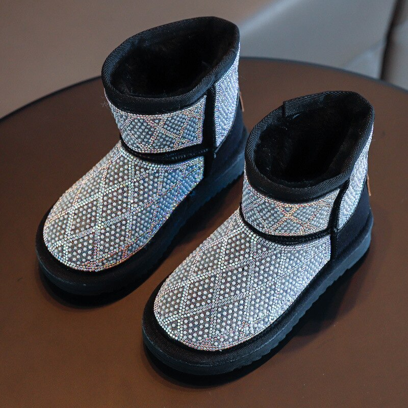 Glittery Gal Fur Boot