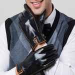 Load image into Gallery viewer, Refined Gent Leather Gloves