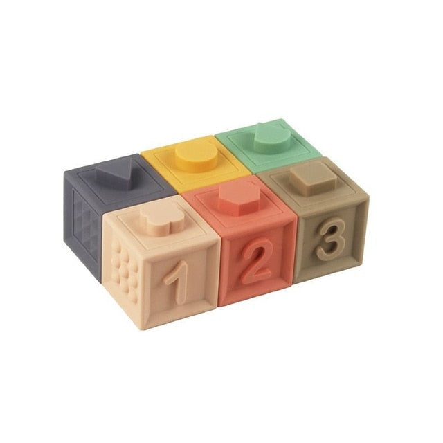 Easy Learning Silicone Blocks