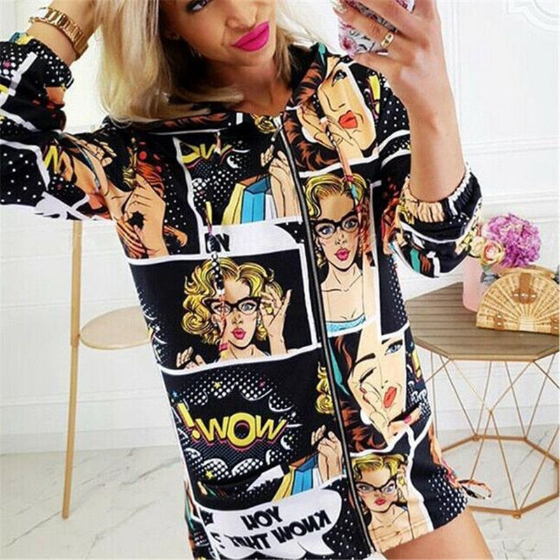 Comic Fashion Jacket