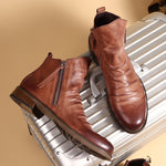 Load image into Gallery viewer, Casual Gent Leather Boots
