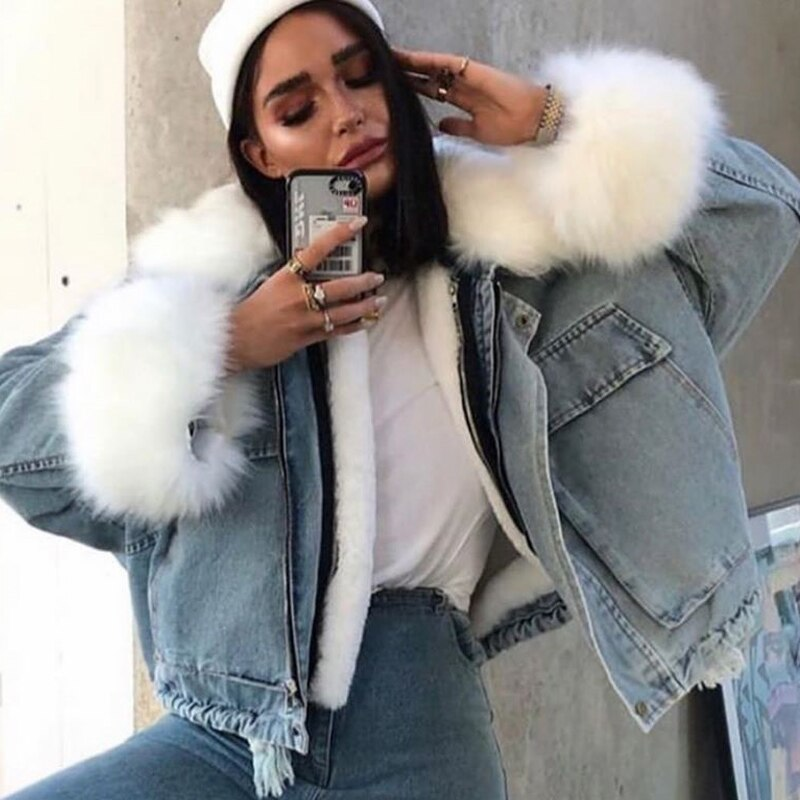 Lovely Chic Denim Jacket