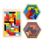 Load image into Gallery viewer, Brain Trainers Wood Puzzles
