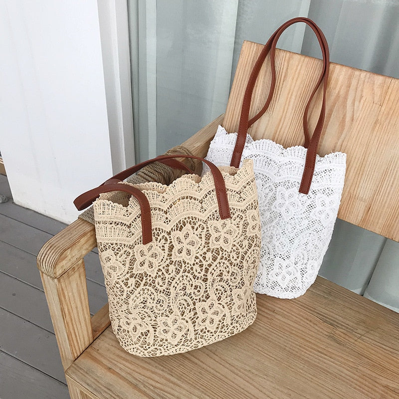 Beachy Glam Lace Bag