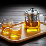 Load image into Gallery viewer, Stellar Tea Glass Teapot