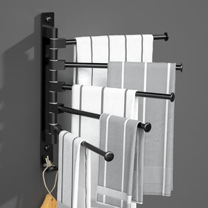 Simplified Multi-Level Towel Rack