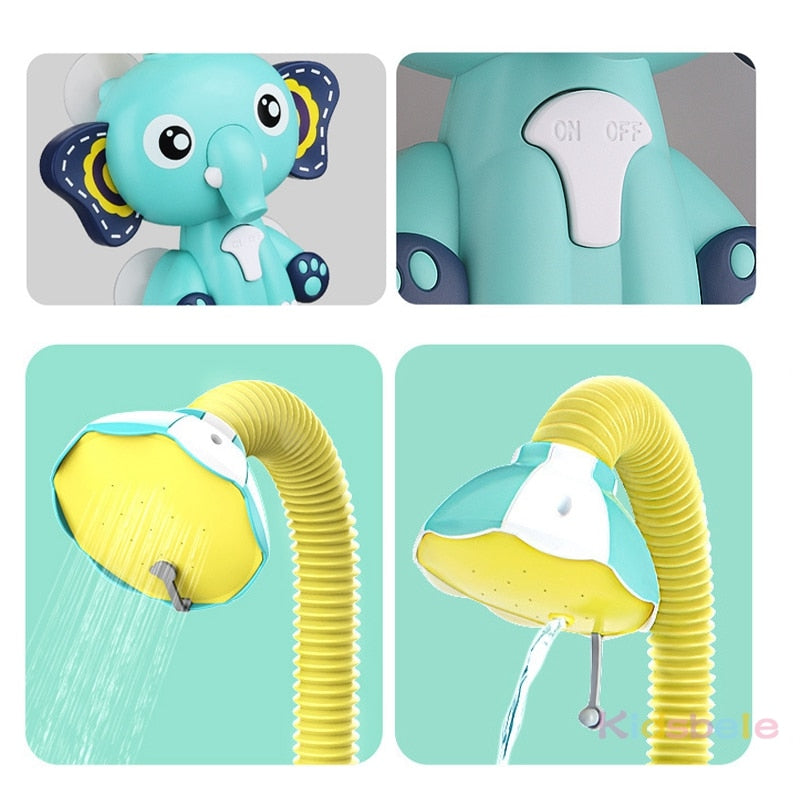 Bathing Discoveries Elephant Faucet