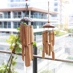 Load image into Gallery viewer, Natures Household Bamboo Windchime