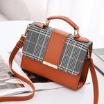 Load image into Gallery viewer, Fashionably Plaid Crossbody